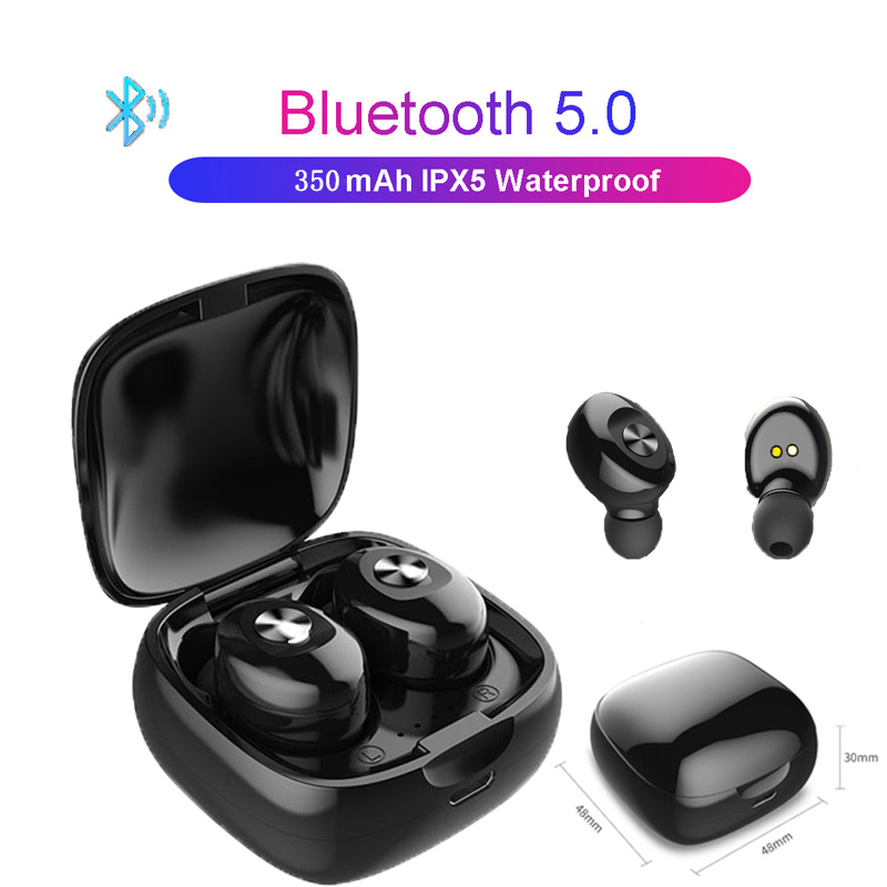 Wireless Earphone <font><b>TWS</b></font> 5.0 Sport Stereo With Microphone Bluetooth Headphones For Mobile Phone Samsung Wireless Bluetooth Headset image