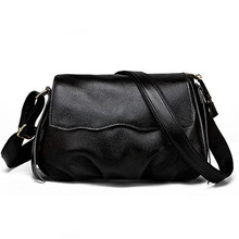 Genuine leather bag women messenger bags big tote luxury handbags women bags designer shoulder bags famous brands bolsos LJ-0641 luxury women genuine leather messenger bags sheepskin handbags lady famous brands designer handbag shoulder back bag sac ly157