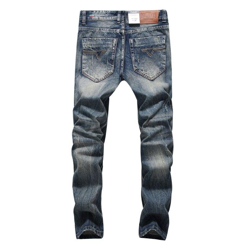 2017 New Arrival Fashion Men Jeans Straight Fit Leisure Quality Biker Jeans Denim Trousers Dsel Brand Ripped Jeans men Pants 2017 fashion patch jeans men slim straight denim jeans ripped trousers new famous brand biker jeans logo mens zipper jeans 604