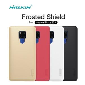 Huawei Mate 20 X чехол Nillkin матовый защитный жесткий чехол матовый чехол для Huawei Mate 20 X бампер Подарочный держатель