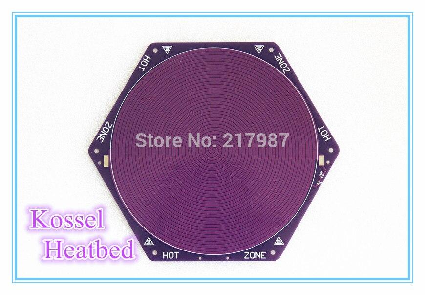 Kossel Delta Rostock Hotbed Heatbed Heater PCB 12V 120w 170mm 200mm Purple Reprap Seemecnc Onyx