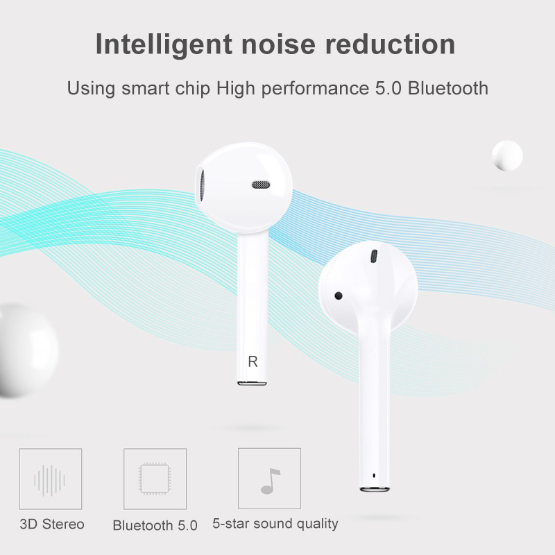 DS-Pod2 TWS Pop-Up 5.0 Wireless Bluetooth Charging Earbuds