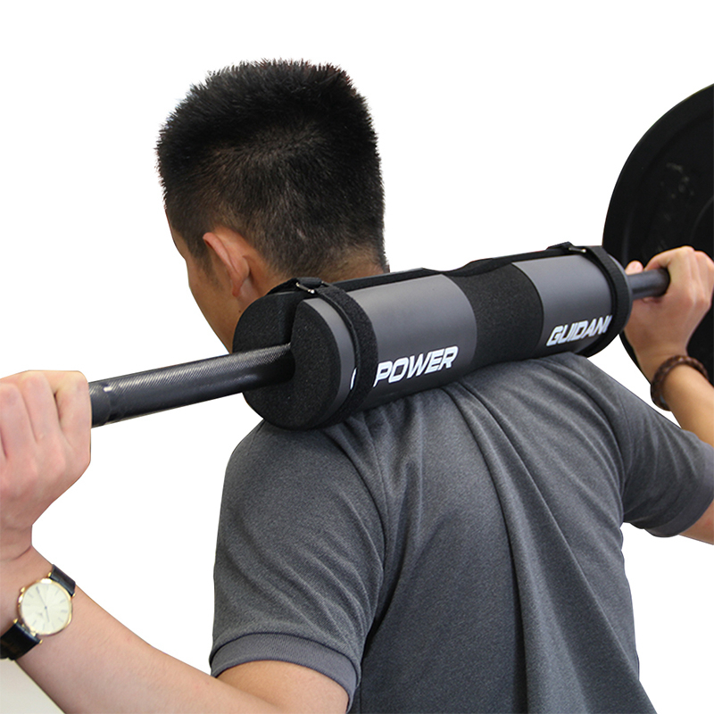 New Weightlifting Weight lifting Barbell Support Pad Squat Weight Lifting Shoulder Protection Pull Up Gripper Black