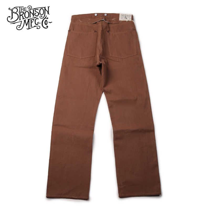 Lot877 Bronson Pantalones De Lona Para Hombre Vintage Sin Lavar De Pato 11 Onzas Pantalones Vaqueros Aliexpress