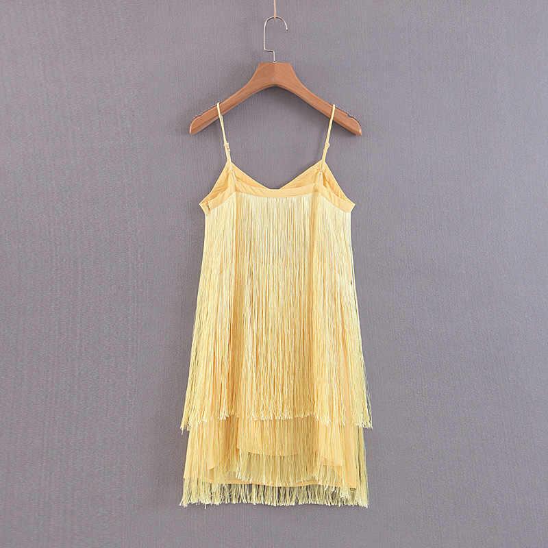 Сексуальная V шеи свободные Мини-платья Для женщин модное платье без рукавов Для женщин Элегантный Ленточки брекеты платье женские EK02