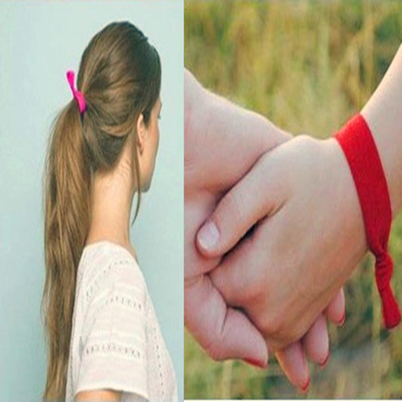 Women   Headwear   Fashion Girl Hair Tie Elastic Hair Bands Assorted Multicolor Elastic Hair Band Ponytail Holder Girl Bracelet