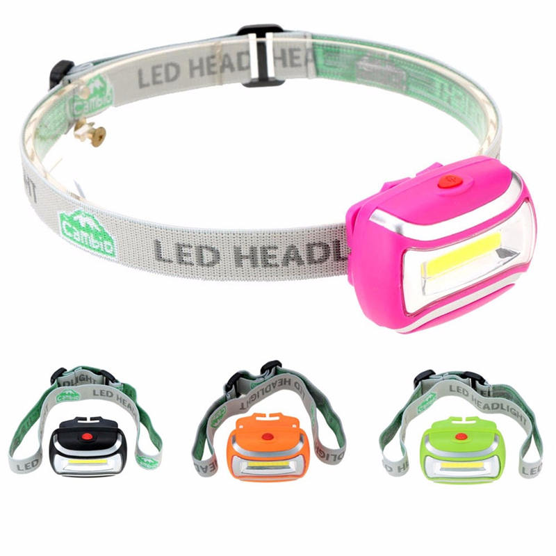 Mising 5W 600LM Battery Portable Outdoor Lighting LED Headlight Camping Hiking Headlamp Fishing Light Lamp 4 Colors Available