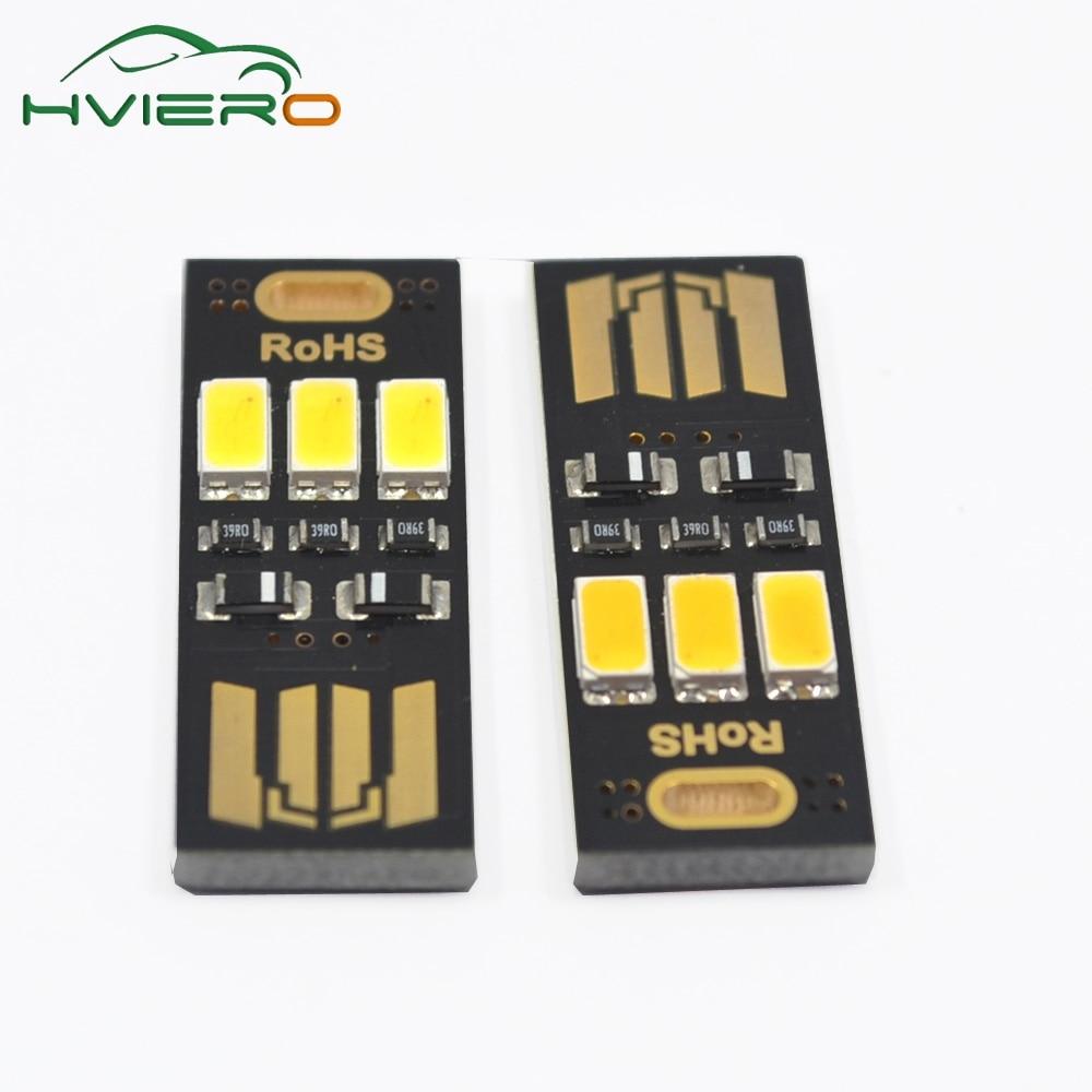 5 sztuk Przenośny Mini USB Zasilanie Lampka nocna 3LED Lampka nocna - Lampki nocne - Zdjęcie 5