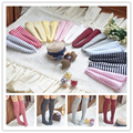 6Pair Solid Color & Stripe Assorted Blyth Doll Stocking Suitable for Azone, Pullip, Licca Doll Socks 1/6 Clothes Accessories