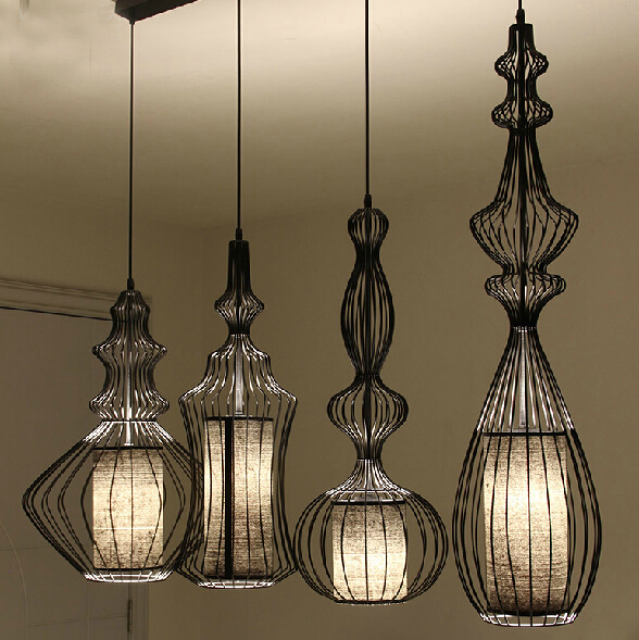 Showcase Hotel Bar Retro Aristocrat Magnates Iron Birdcage Pendant Light-in Pendant Lights from Lights u0026 Lighting on Aliexpress.com | Alibaba Group & Showcase Hotel Bar Retro Aristocrat Magnates Iron Birdcage Pendant ... azcodes.com