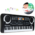 New 61 Keys Digital Music Electronic Keyboard Key Board Gift Electric Piano with microphone Gift