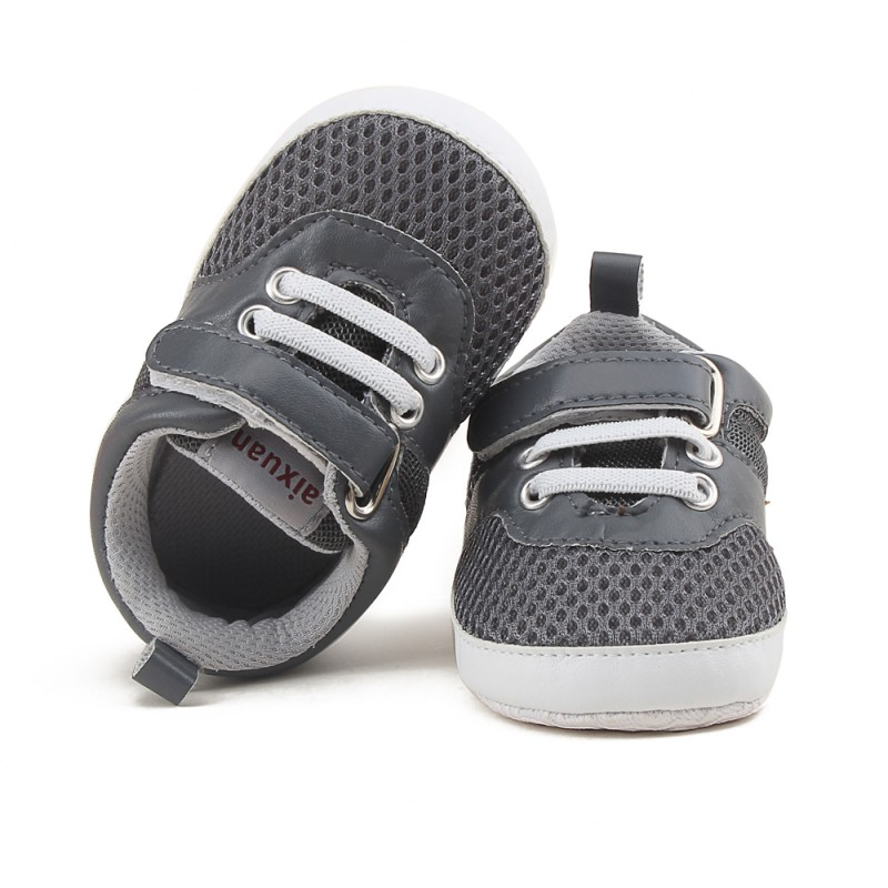 2017 Summer Baby Shoes Newborn Girl Boy Soft Sole First Walkers Anti-skid Toddler Infant Sneaker Shoes Casual Prewalker A