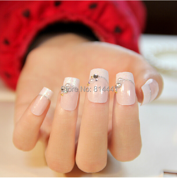 elegant office lady dress nail