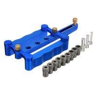 6 8 10MM Self Centering Locator Dowel Jig Metric Drill Kit Tools For Woodworking