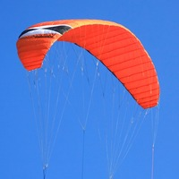 7sqm Quad Line Power Kite Beach Flying Professional Traction Parachute Surfing Boarding Trainer Kite With Handle Line