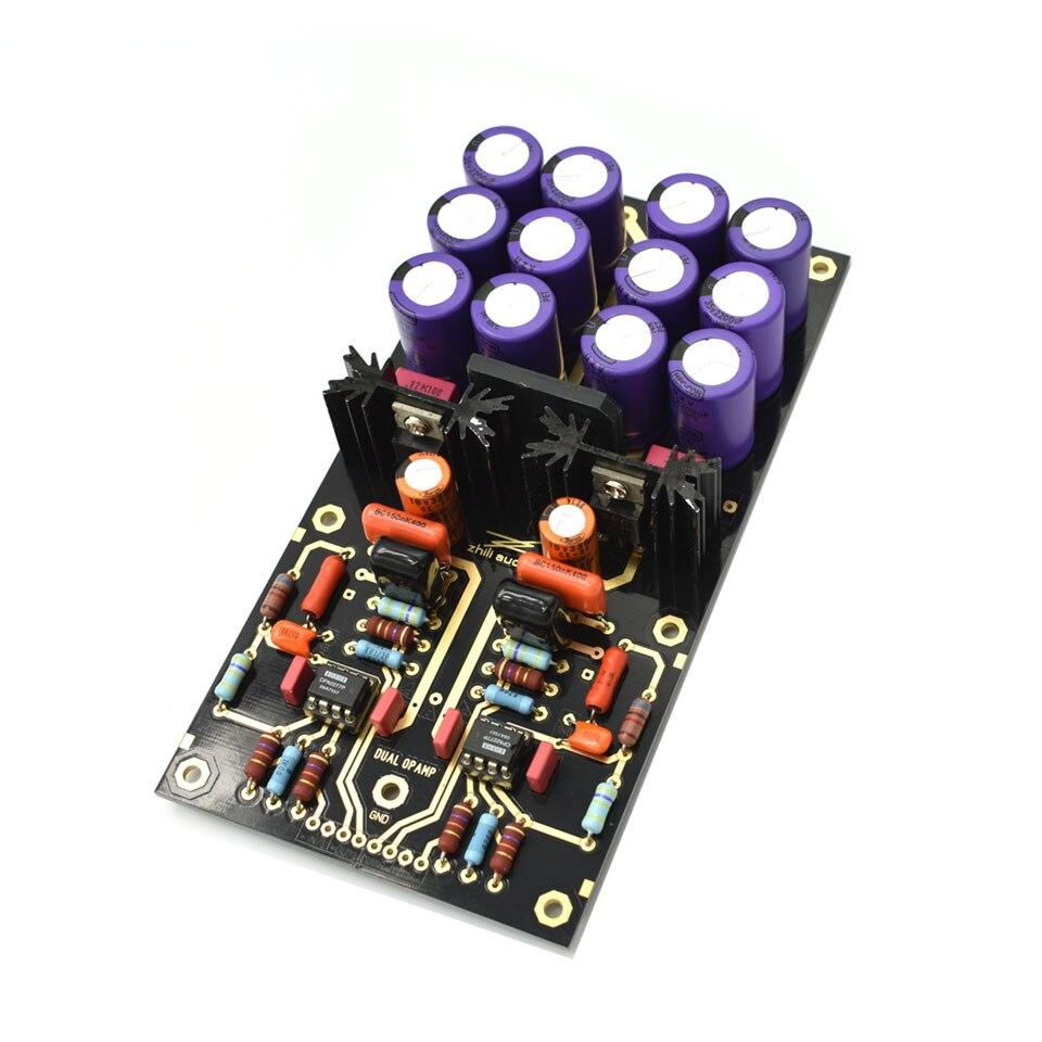 Carte amplificateur Lusya MM PCBA OPA2111KP platine vinyle HiFi Phono préamplificateur préamplificateur assemblé carte C2-003 - 4