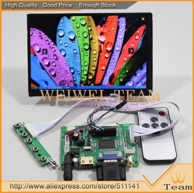 Original nuevo 7 pulgadas 1280x800 N070ICG-L21 IPS LCD pantalla con la pantalla de Control de placa de controlador HDMI + VGA + 2AV envío gratis