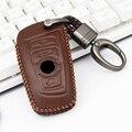 Ключи защитный чехол для Bmw серий 5 F10 520 E90 E87 E83 E60 M5 F20 F11 F31 F15 F07 F34 F48 F25 G30 кожаный чехол для ключей кольцо