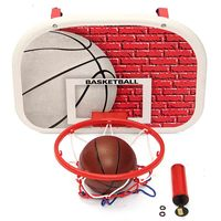 Children Kids Mini Basketball Backboard Hoop Net Play Set Outdoor Indoor Sport Toy Game Basketball Balls with Pump