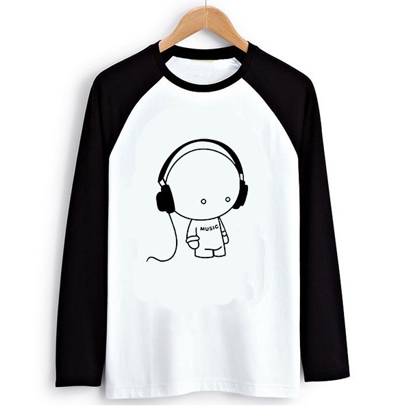 Raglan T-shirt Music Doll 6