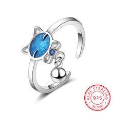 Женское кольцо с кисточками простое регулируемое серебряное