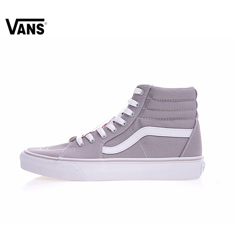Original Vans Men s   Women s Classic SK8-HI Skateboarding Shoes Sport  Outdoor Sneakers New Arrival cc5e35302