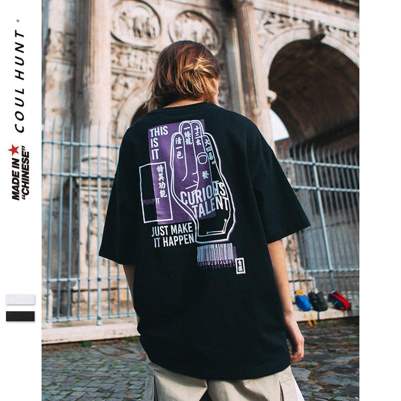 2019 SS Summer Chinese Mah-jong Flush Grand Slam Printed T Shirt Streetwear Skateboard Short Sleeve Harajuku Icon Oversized Tees
