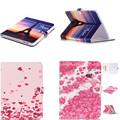 "HX New Cartoon PU leather+TPU Back tablet case cover Flower Style Cases for Samsung Galaxy Tab 4 10.1"" T530 T531 T535 Tablet"