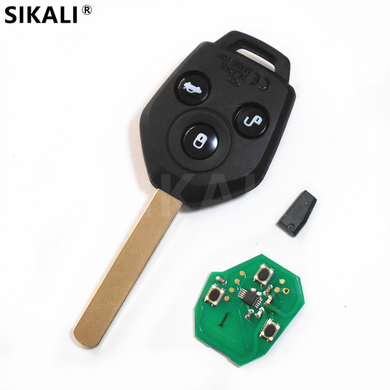 3 buttons Car Remote Key for Forester Outback Legacy 433.9MHz 4D62 Chip for Subaru 2008 2009 2010 2012 2013 2014