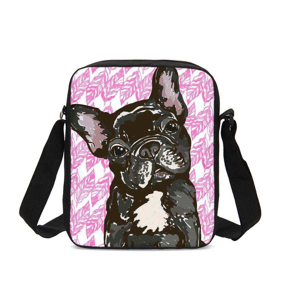 Роскошные сумки для женщин французский Бульдог дизайнер сумка через плечо девушка Bolsos Mujer Feminina Sac основной Femme