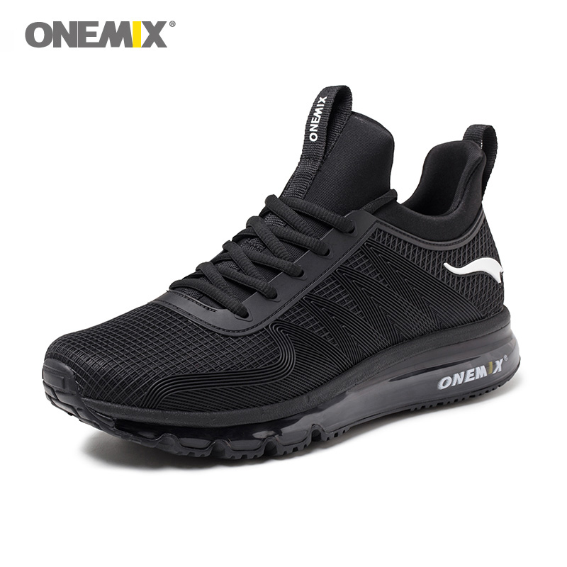 ONEMIX Men Runing shoes Winter KPU Mesh Air Sole Outdoor Designer Athletic Trainers Sports Shoe For Young Women Walking Sneakers women sneakers men running winter thermal shoes ultra light damping air sole walking outdoor training sports shoes plus 36 45