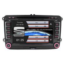 Free Shipping Capacitive Screen! Two Din 7 Inch Car DVD Player For Seat/Altea/Leon/Toledo/VW/Skoda Radio GPS RDS 1080P Ipod Map