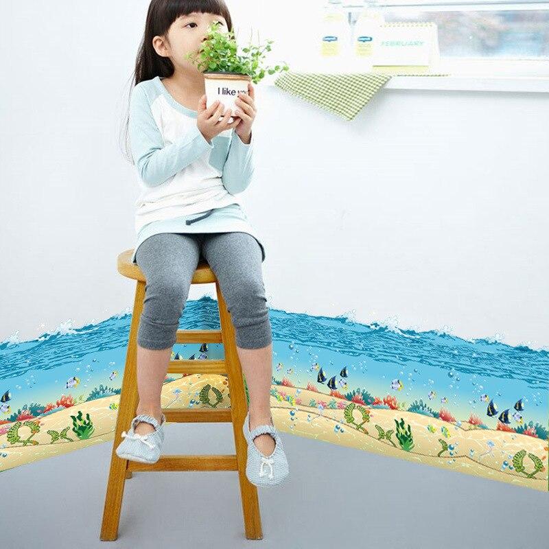 Fisch Unterwasser Spray Tier Wandaufkleber Kinderzimmer Wohnzimmer Schlafzimmer Wohnkultur 3d Vinyl Wandtattoo Wand Poster