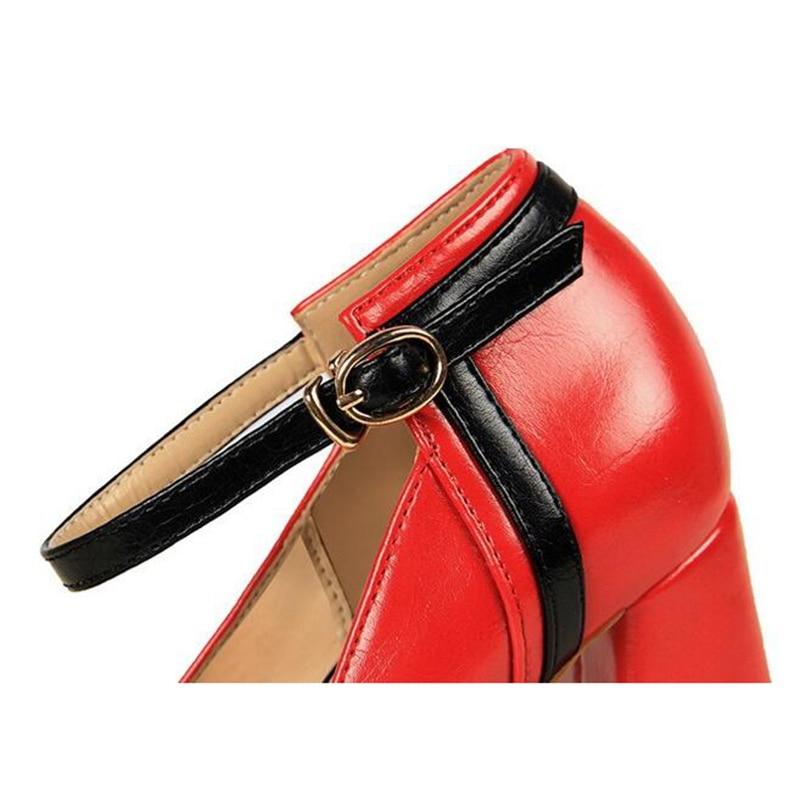 Grueso 4 Nuevos K683 Mujer 2 Cómodos Verano Alto Moda 2018 3 Plataforma Para 5 1 De Tacón Zapatos zUqRnxSwa