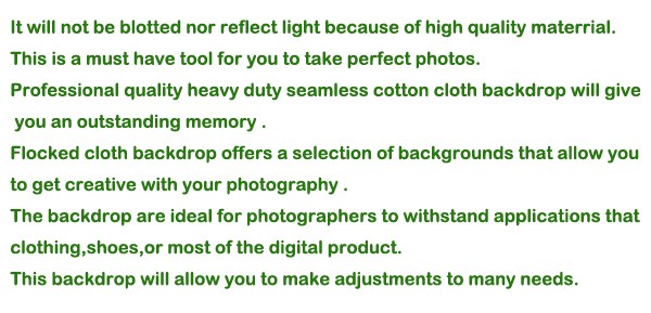 מס חינם לרוסיה מקצועי ציוד צילום 3*6m כותנה מסך ירוק מוסלין רקע תמונה תפאורות למכירה