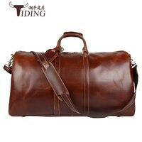 Мужские дорожные сумки очень большой 2018man корова натуральная кожа негабаритных большая емкость путешествия duffles сумки мужской Crossbody сумки