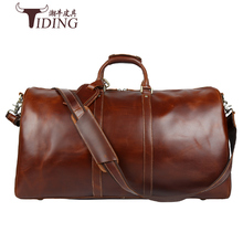 man travel bags extra large 2018man cow genuine leather oversized capacity duffles male crossbody handbags