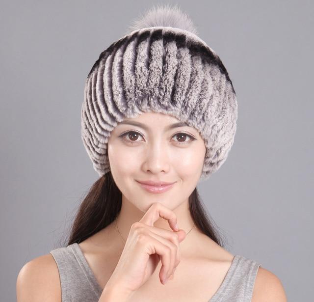 2015 Winter Hat Lady Warm Fur Earmuffs Rex Mao Maozi Fashion Factory Direct Group Wholesale Manufacturers Hats For Women Cap