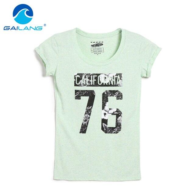 c3656d825d33c Gailang Brand Women Designer T Shirt Casual Slim Fit Shirts Tops   Tees  Plus Size Woman