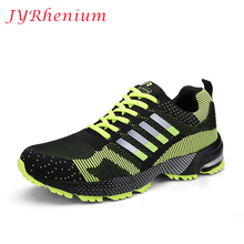 JYRhenium Running Shoes For Men Super Light athletic running Sports shoes Lover's Sports Shoes Breathable Trainer Shoes Big Size