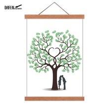 DIY магнитная деревянная вешалка фоторамка Деревянная Настенная картина рамка домашний декор для комнаты деревянная вешалка для плаката