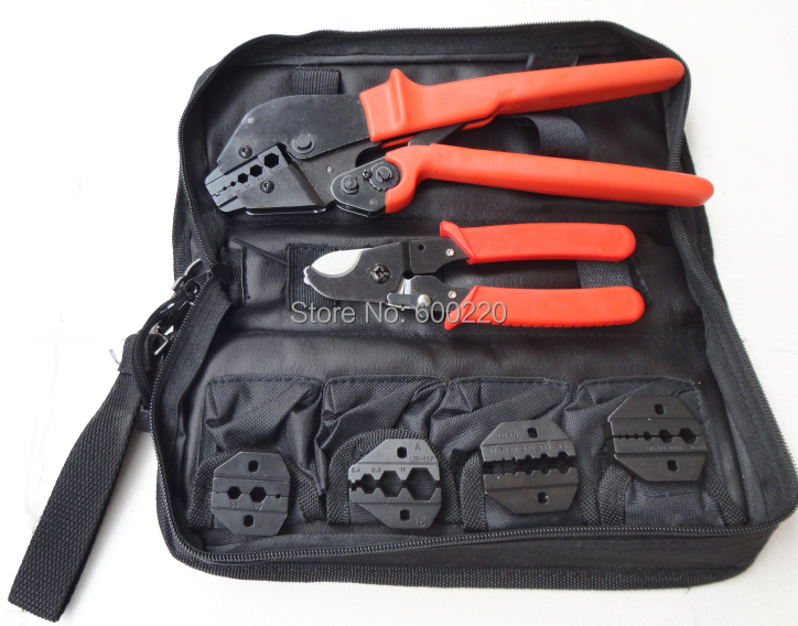 ap k05h coaxial crimping tool set bnc crimping tool kit with cable cutter replaceable dies for. Black Bedroom Furniture Sets. Home Design Ideas