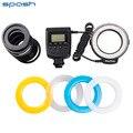 Nova rf-550e macro 48 pcs led ring flash luz para sony a900 a850 a560 a77 a65 (não hdmi)