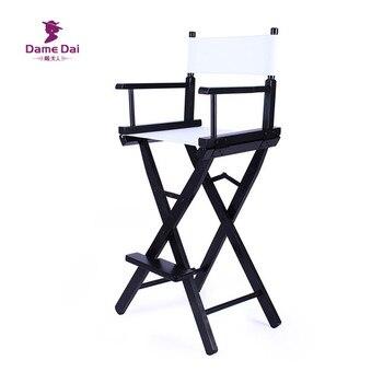 Chaises Hautes | Chaise De Directeur De Hauteur De Barre Cadre Naturel/noir Avec Des Meubles De Jardin De Cavans