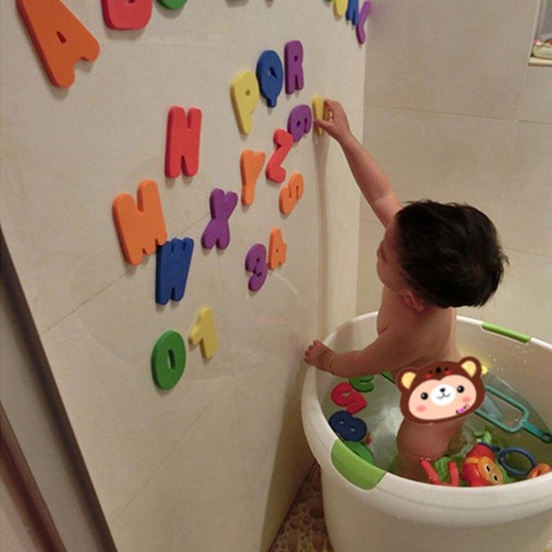 Aliexpress.com : Buy 36pcs/lot Kids Floating Bath Letters Numbers ...