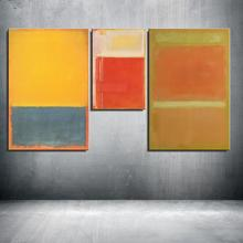 Mark Rothko Abstract American Style print Frameless Unframed Oil Painting Spray Canvas Waterproof airbrush square design art