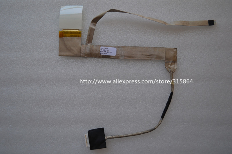 New laptop lcd screen line cable for DELL INSPIRON N5110 M5110 M511R 50.4IE01.001 new laptop lcd screen line cable for dell inspiron n5110 m5110 m511r 50 4ie01 001