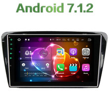 Quad Core 2GB RAM 16GB ROM Android 7 1 2 Stereo Autoradio Bluetooth Car Radio 12V