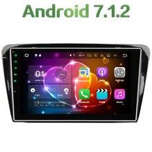 Quad Core 2GB RAM 16GB ROM Android 7.1.2 Stereo Autoradio Bluetooth Car Radio 12V MP3 Player for Skoda Octavia 2014 2015