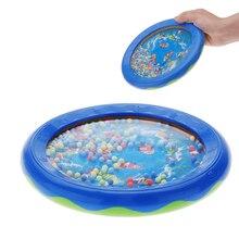 Ocean Wave Bead Drum Sea Sound Musical Developmental Toy for Kid Child шапка noryalli 47404 sea wave